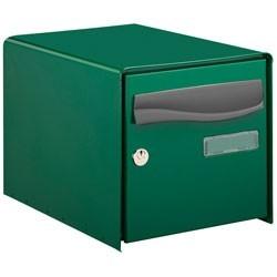 Boite aux lettres verte...