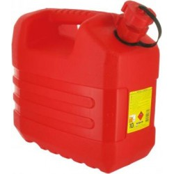 Jerrican rouge hydrocarbure...