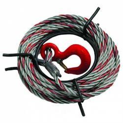 Câble avec crochet pour...