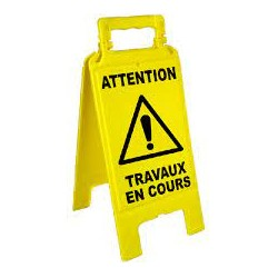 Chevalet de signalisation -...