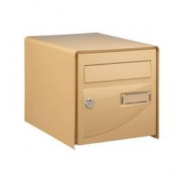 Boîte aux lettres beige...