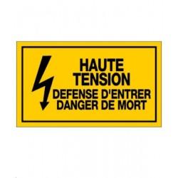 Plaque de signalisation de...