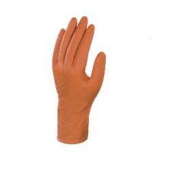 Gants orange nitrile...