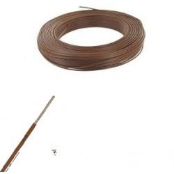 Fil ho7-vu marron de 1,5 m/m