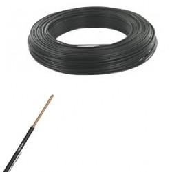 Fil ho7-vu noir de 4 m/m