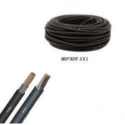 Câble souple ho7 rnf de 3 x 1