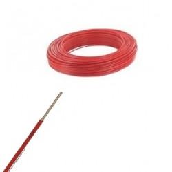 Fil ho7-vu rouge de 4 m/m