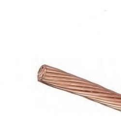 Câble cuivre nu 25 m/m2
