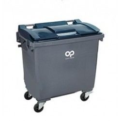 Container 4 roues 770l gris...